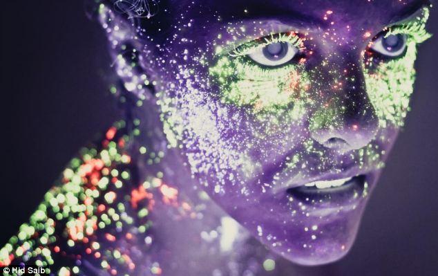 Những bức ảnh đẹp kỳ ảo dưới đèn cực tím Nhung_10