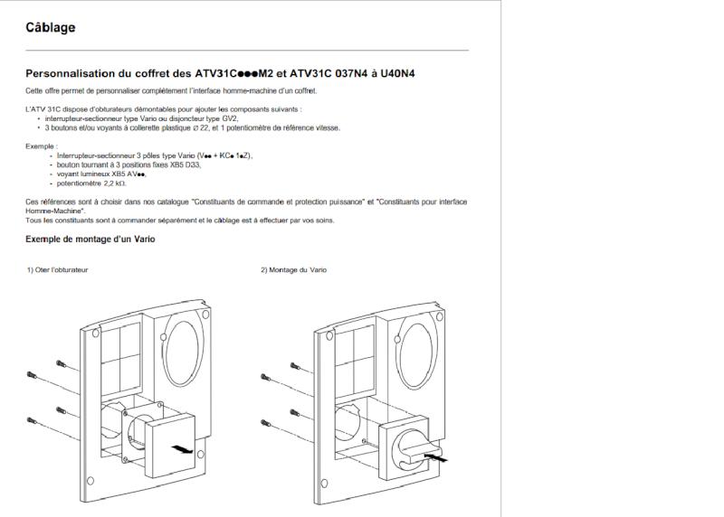choix de disjoncteur magnétothermique et d'un contacteur Alt10