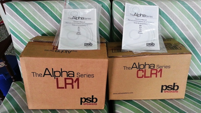 PSB Alpha Series speaker (Open Box) 20131110