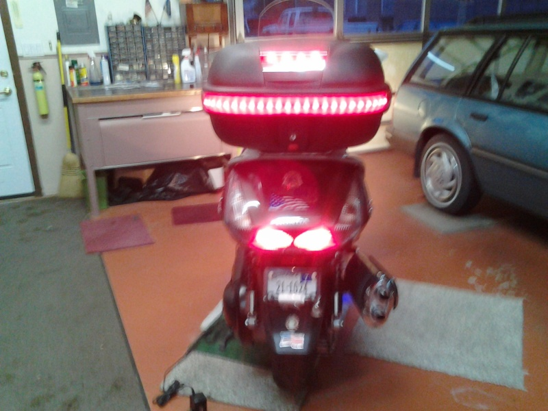 Wiring Bestem top box brake light 10281314