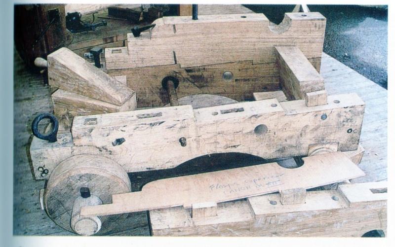 Cannone Francese da 36 libbre del 1750 Tavola11