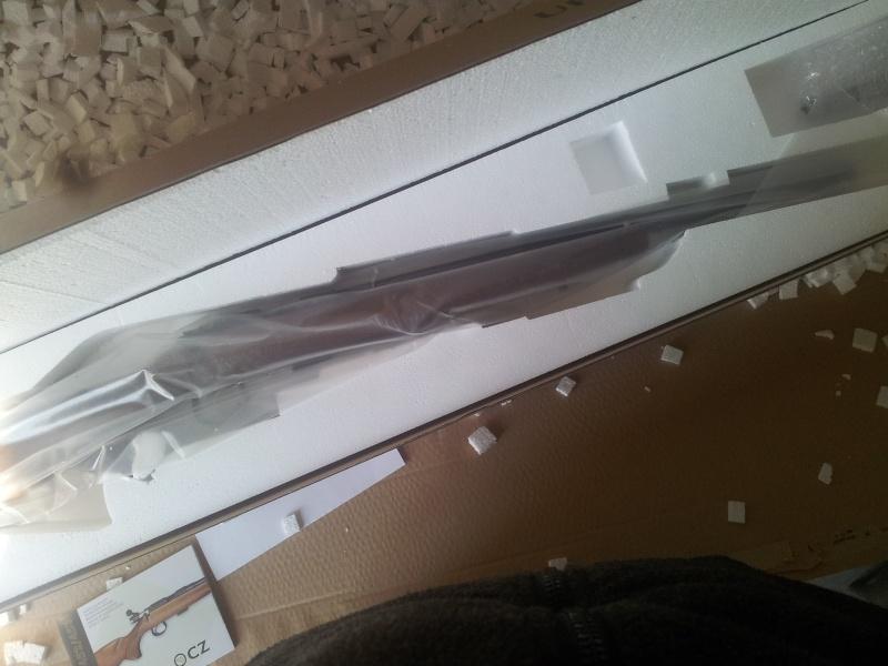 ressort detente cz 455 - De ma nouvelle carabine CZ453 en robe VARMINT à la sauce stecher, ou de la détente pet de mouches. 20140313