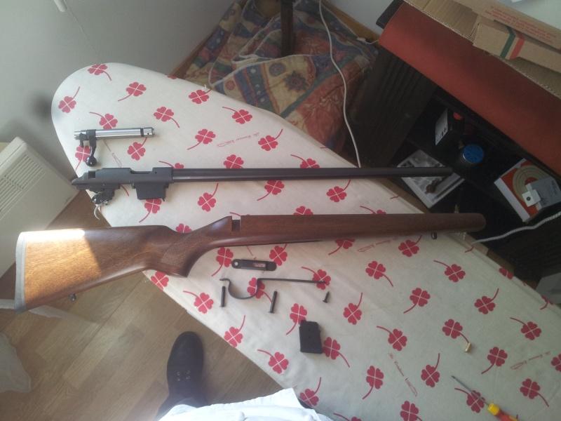 ressort detente cz 455 - De ma nouvelle carabine CZ453 en robe VARMINT à la sauce stecher, ou de la détente pet de mouches. 20140319