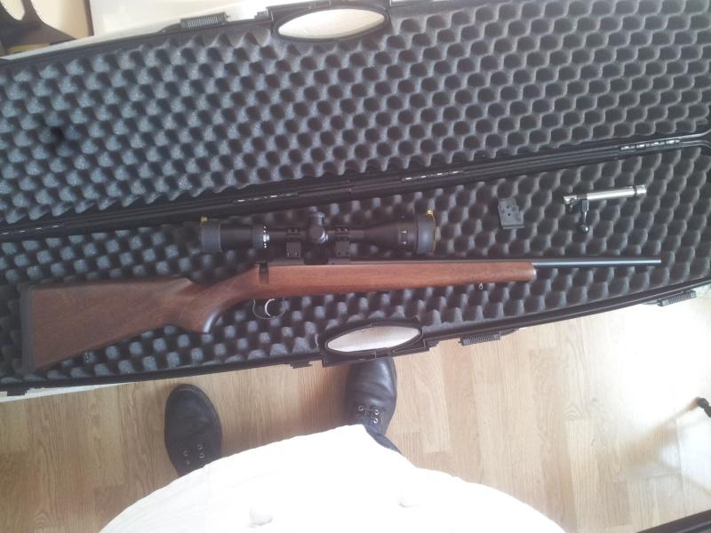ressort detente cz 455 - De ma nouvelle carabine CZ453 en robe VARMINT à la sauce stecher, ou de la détente pet de mouches. 20140320