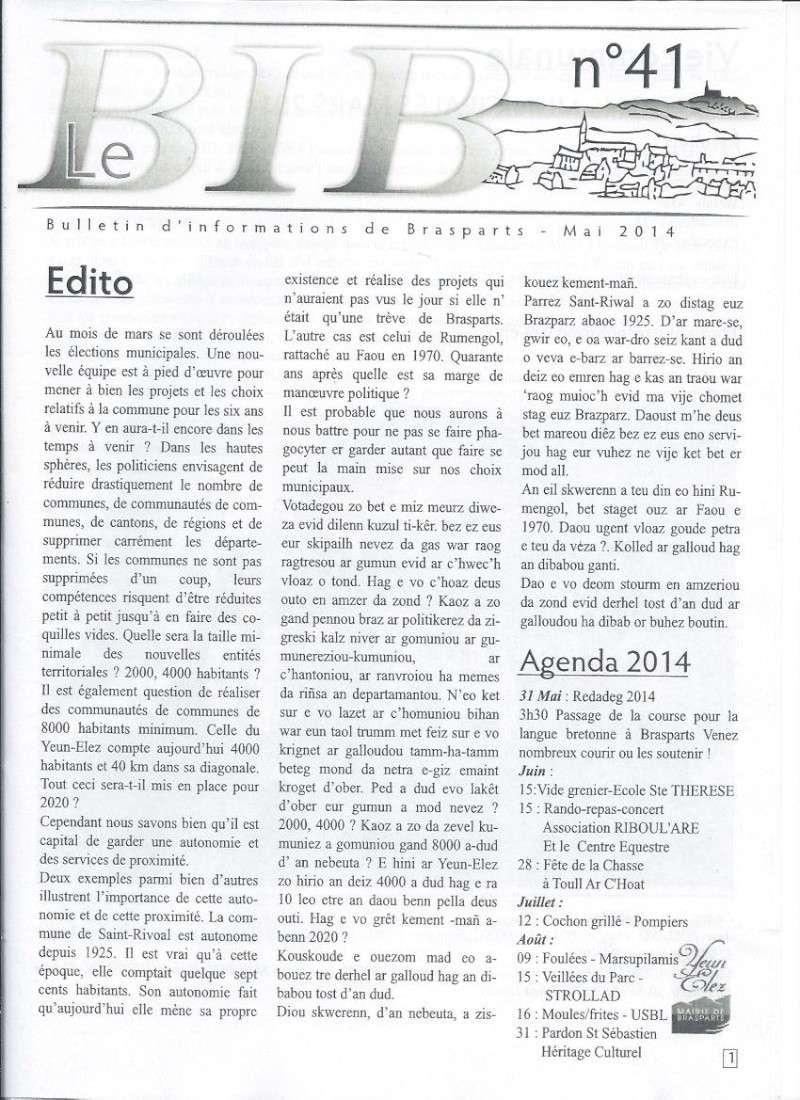 Municipales 2014 à Brasparts / BIB n°41 (mai 2014) 111