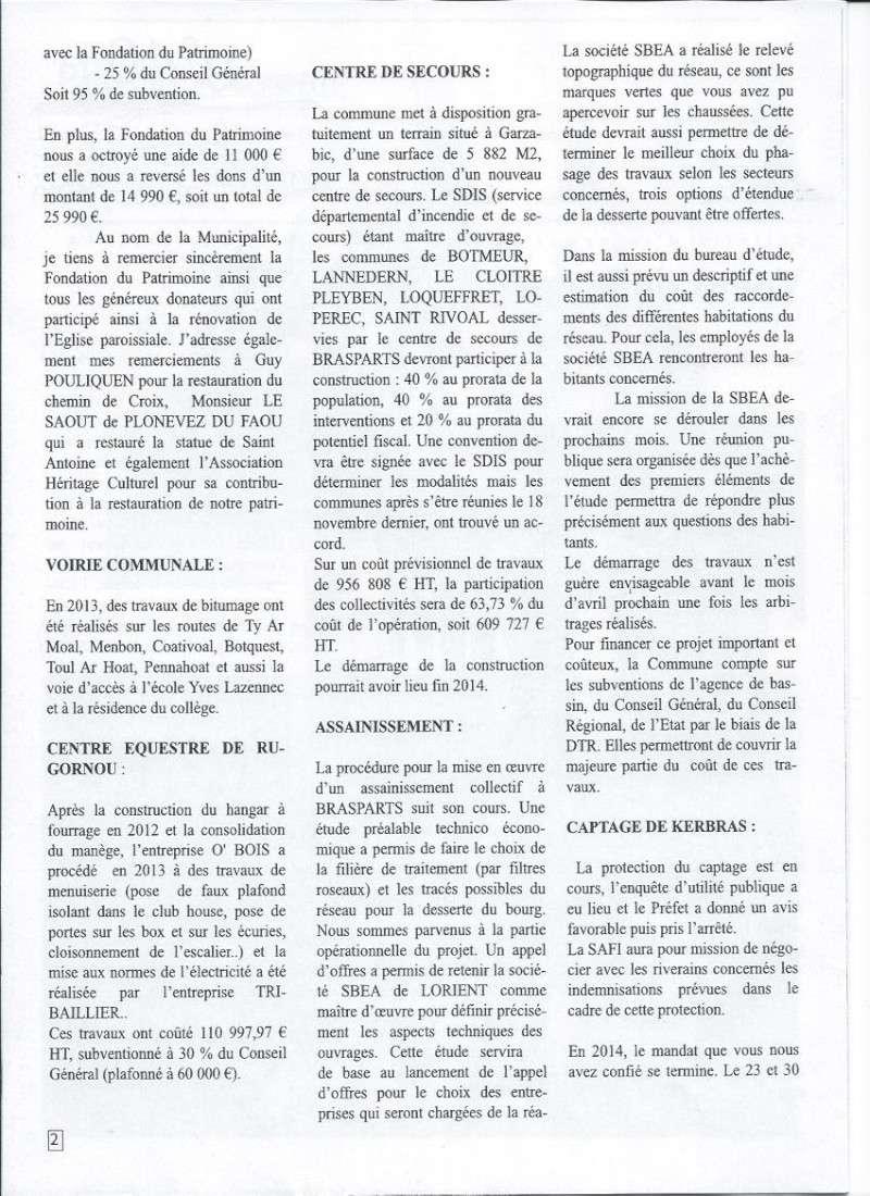 Bulletin d'information de Brasparts n°40 210