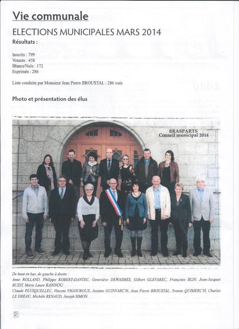 Municipales 2014 à Brasparts / BIB n°41 (mai 2014) 211