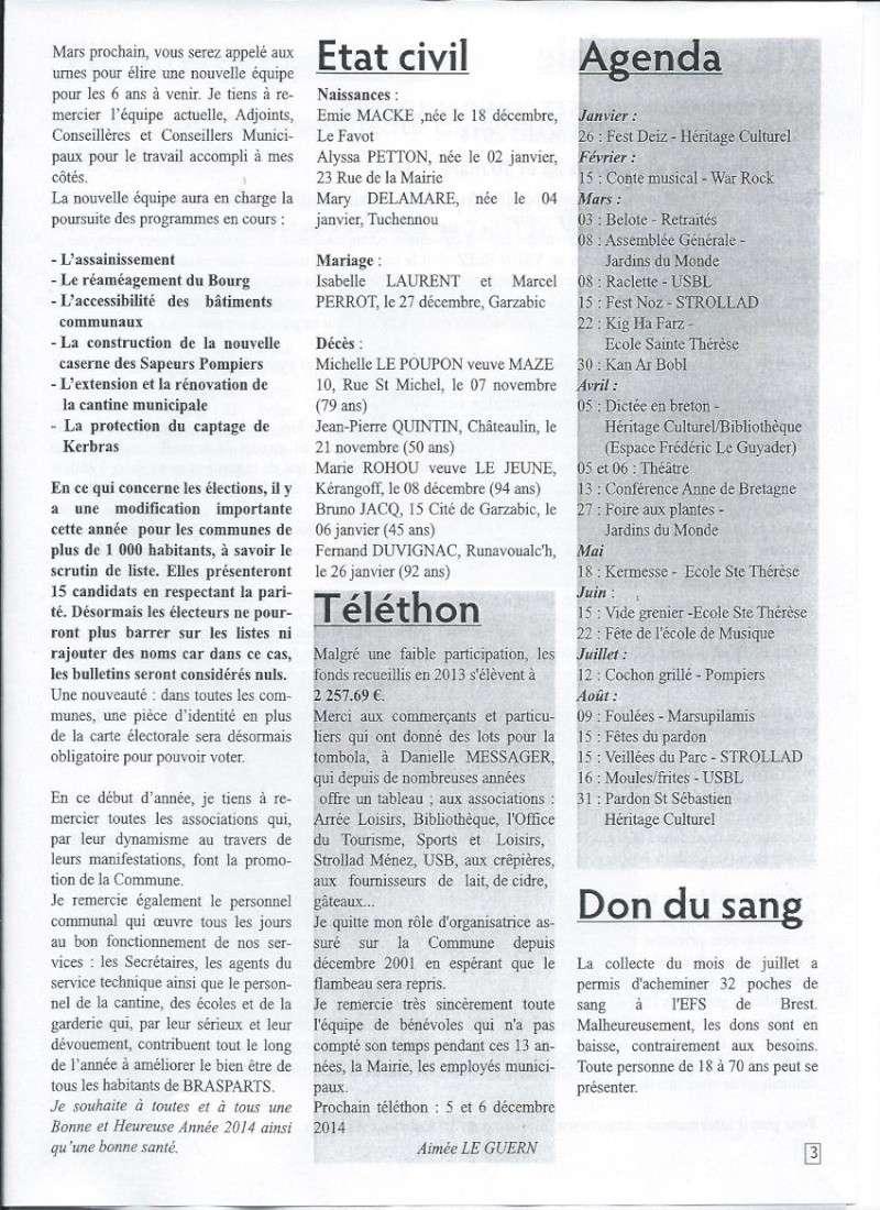 Bulletin d'information de Brasparts n°40 310