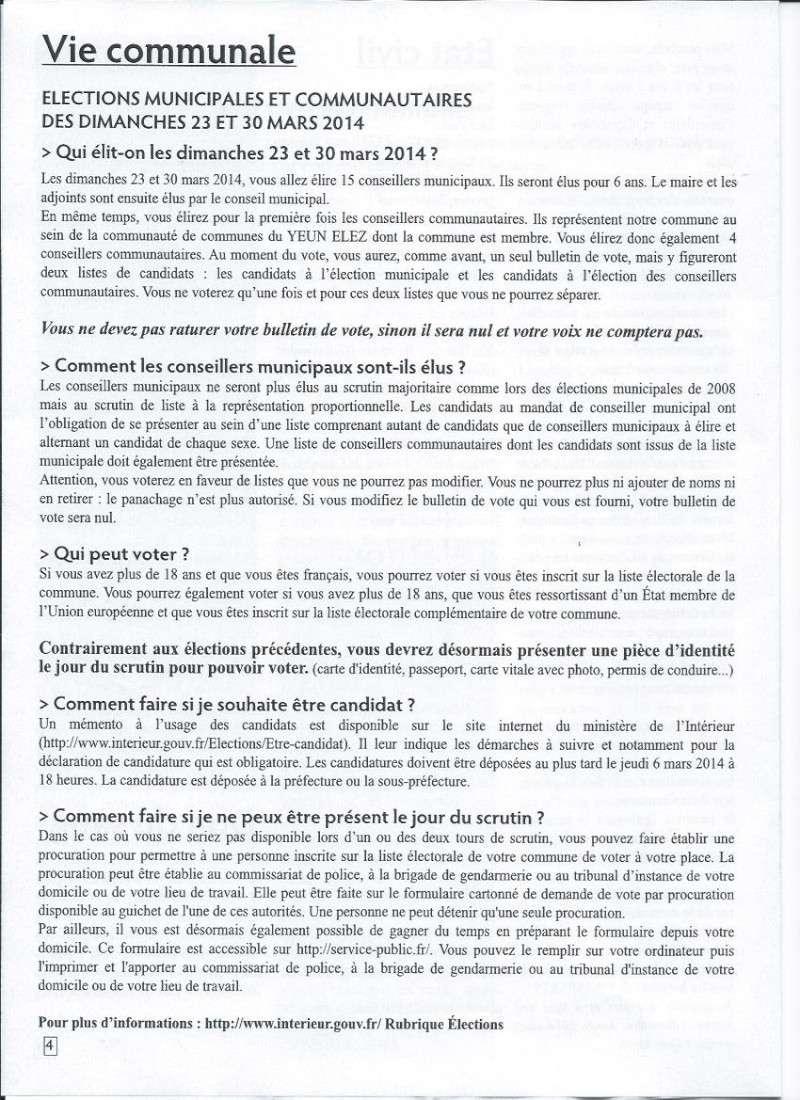 Bulletin d'information de Brasparts n°40 410