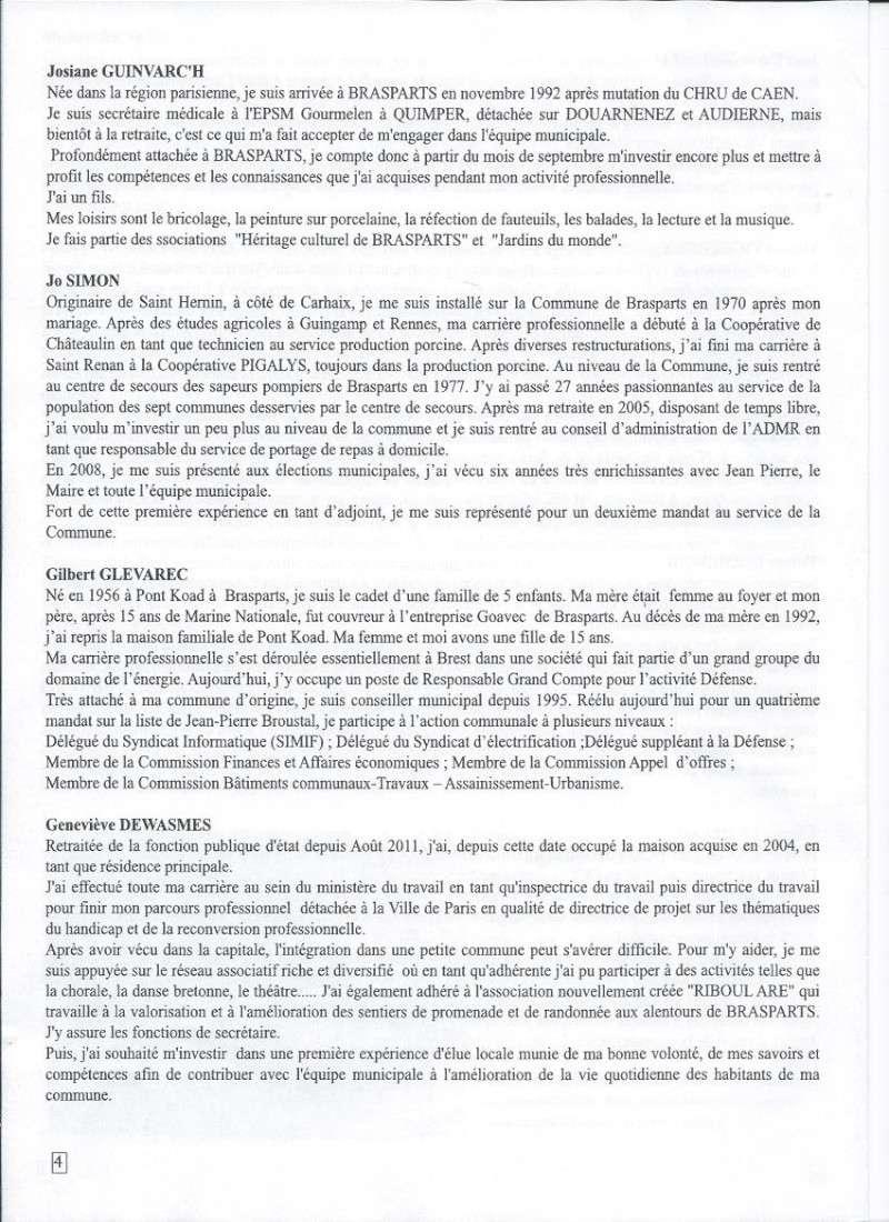 Municipales 2014 à Brasparts / BIB n°41 (mai 2014) 411