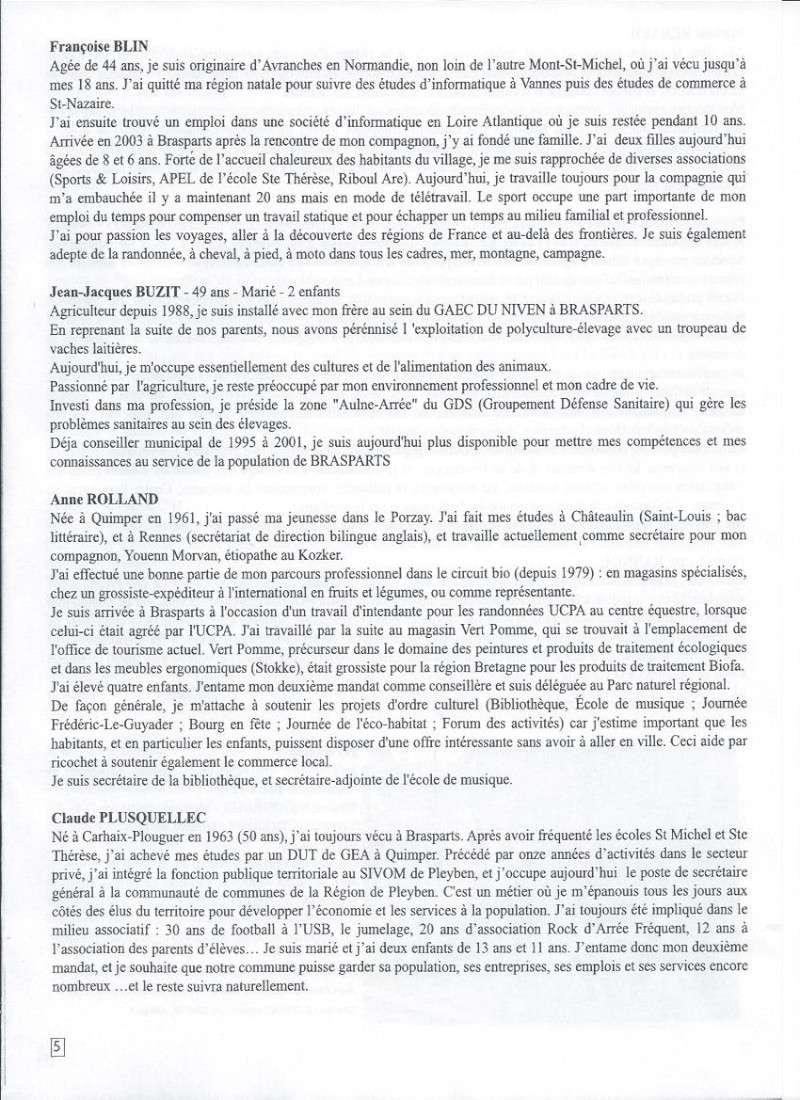Municipales 2014 à Brasparts / BIB n°41 (mai 2014) 511