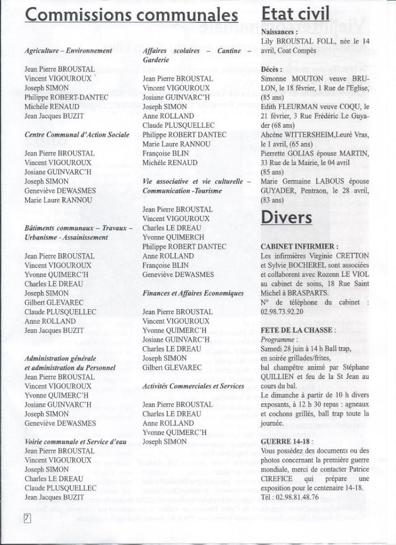 Municipales 2014 à Brasparts / BIB n°41 (mai 2014) 712