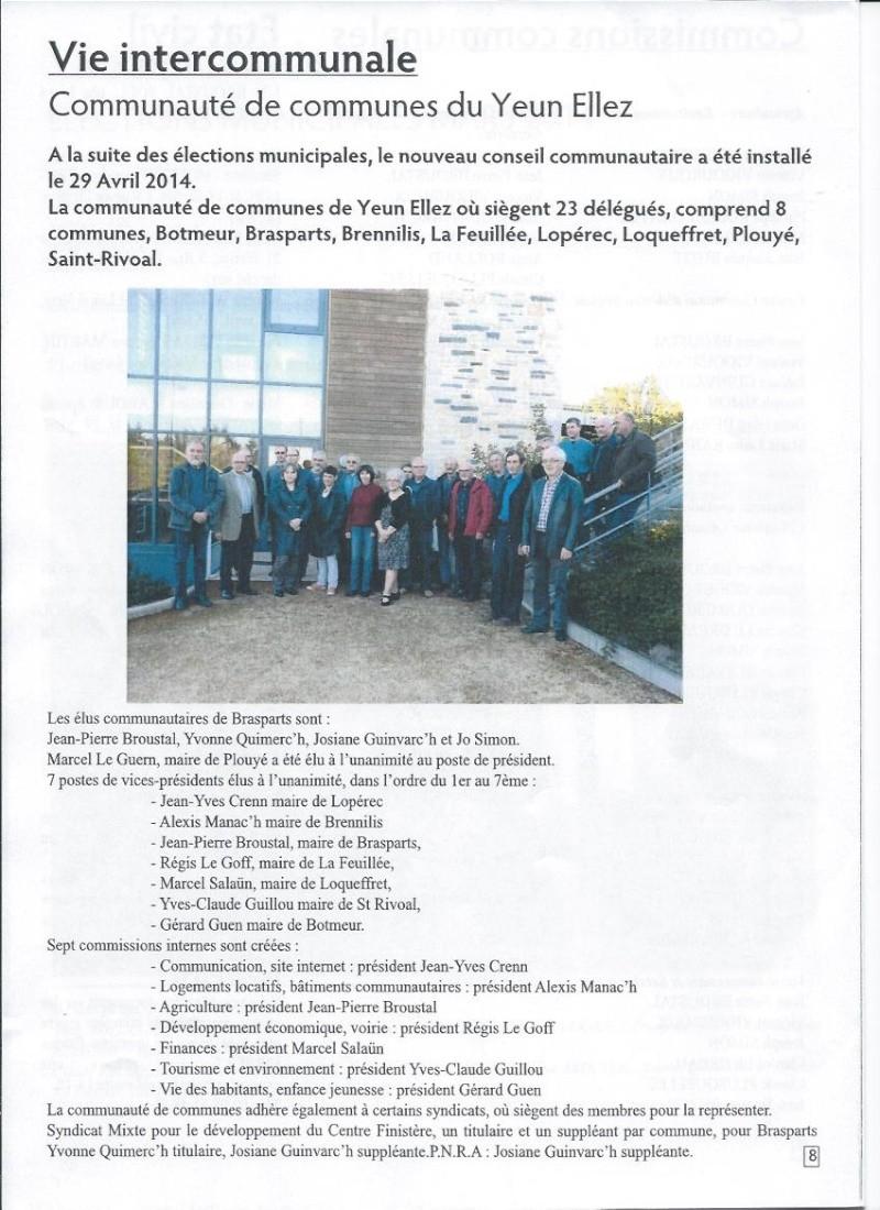Municipales 2014 à Brasparts / BIB n°41 (mai 2014) 811