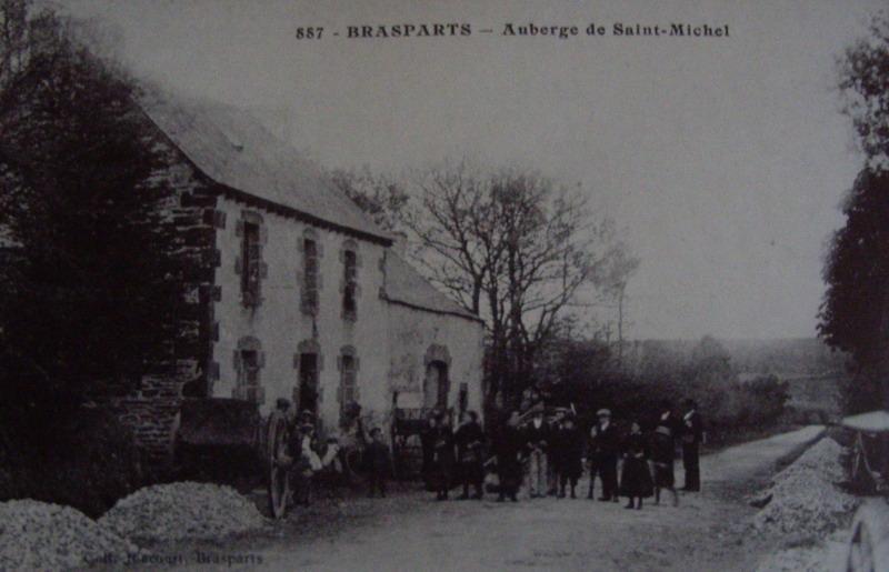 Triple mariage à Saint Rivoal (et Brasparts) en 1913 ... Auberg10