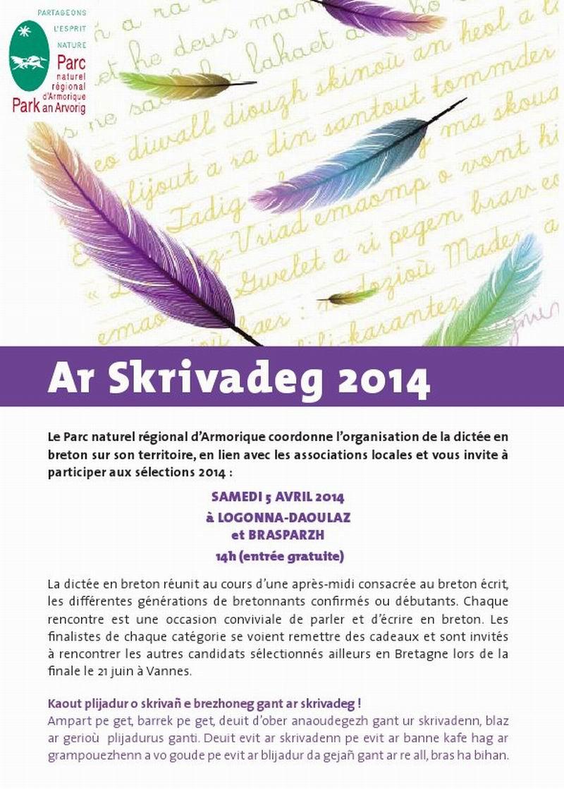 Skrivadeg 2014 - Dictée en Breton 2014 Dictee10