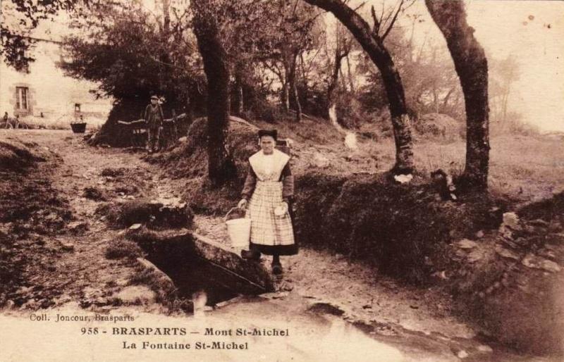Triple mariage à Saint Rivoal (et Brasparts) en 1913 ... Fontai10