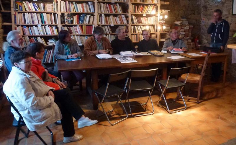 """La librairie """"Le Passage"""" à Brasparts /  samedi 10 décembre 2016 P1030310"""