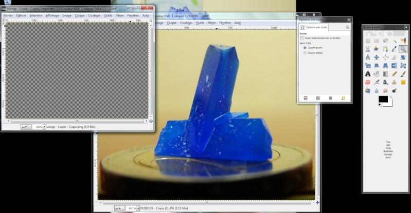 Fabriquer un icône avec une photo avec Gimp Icone110