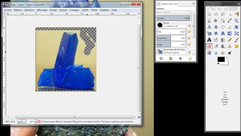 Fabriquer un icône avec une photo avec Gimp Icone710