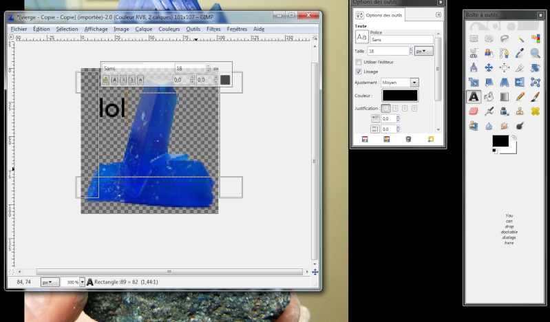 Fabriquer un icône avec une photo avec Gimp Icone810