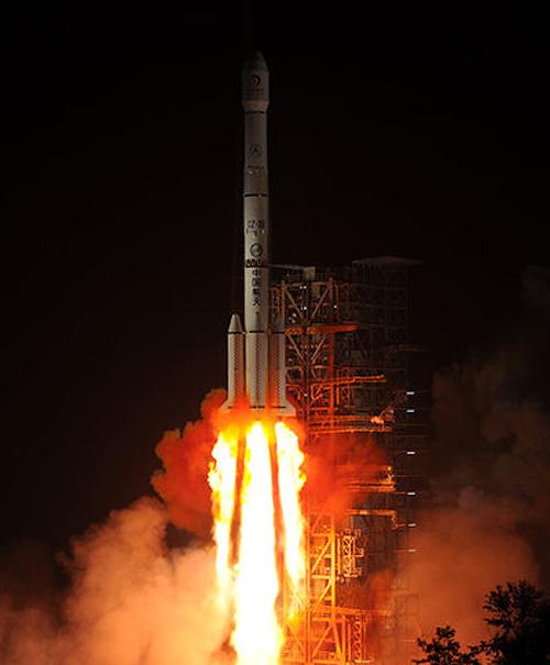 Décollage et alunissage de la sonde lunaire chinoise Chang'e 3 / rover Yutu 02moon11