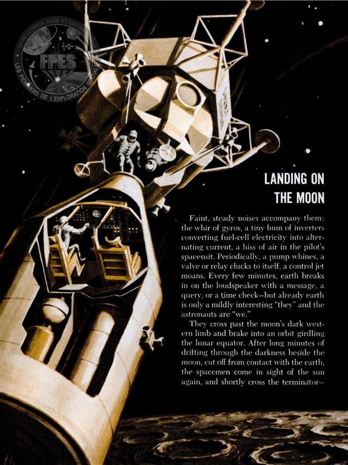 Terre-Lune et retour : le programme Apollo en 1964, puis 1967 Apollo17