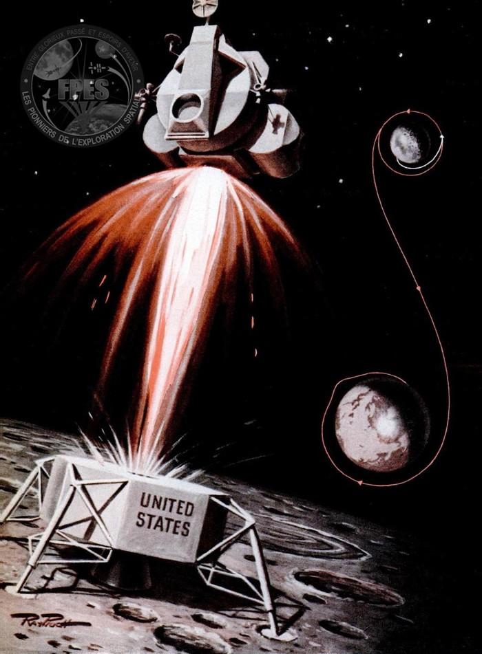 Terre-Lune et retour : le programme Apollo en 1964, puis 1967 Apollo19