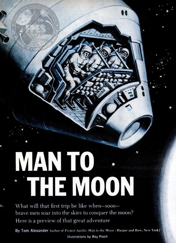 Terre-Lune et retour : le programme Apollo en 1964, puis 1967 Apollo21