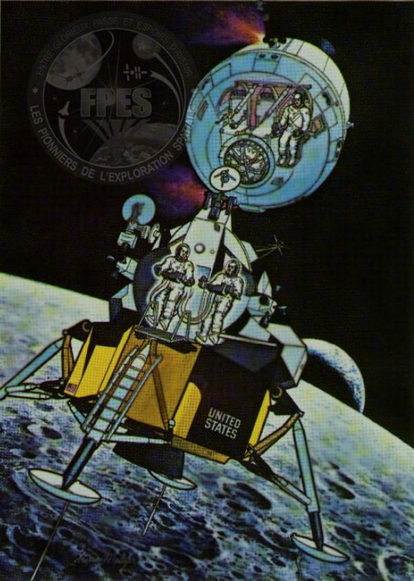 Le module lunaire d'Apollo Csm10
