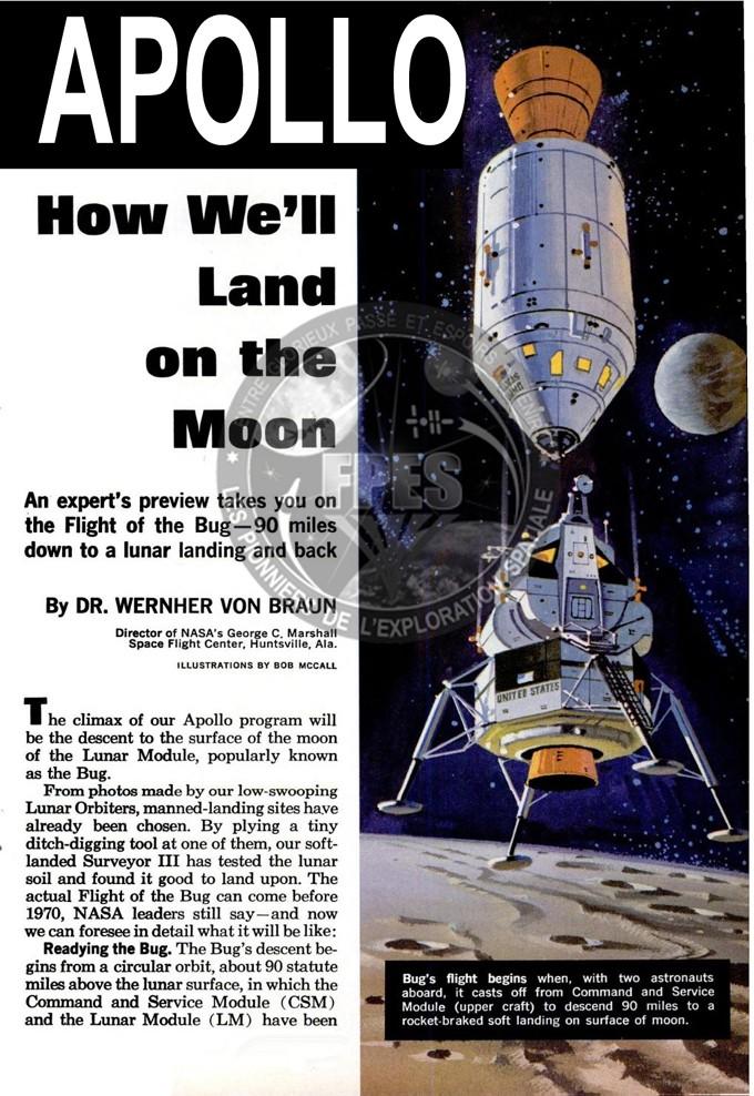 Terre-Lune et retour : le programme Apollo en 1964, puis 1967 Part1b10
