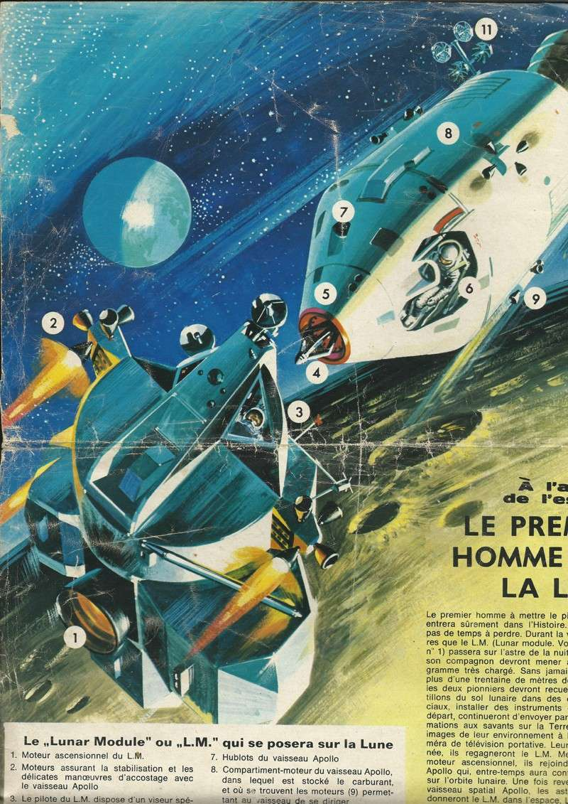Le module lunaire d'Apollo Scan10