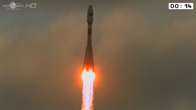 Sentinel : lancement réussi Sentin10