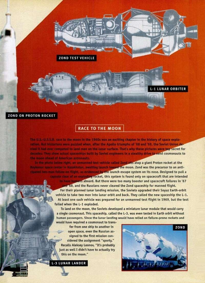 Années 1960/1980 : l'espace soviétique et ses velléités militaires restées longtemps secrètes Seso210