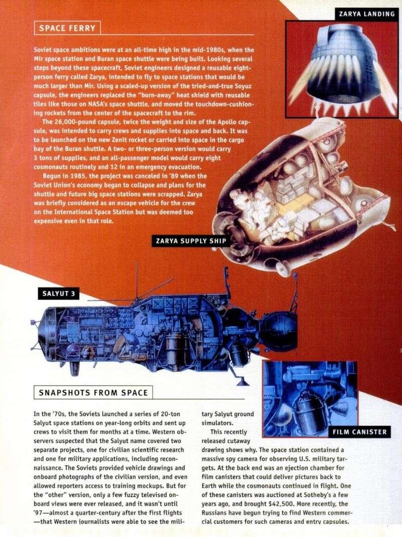 Années 1960/1980 : l'espace soviétique et ses velléités militaires restées longtemps secrètes Seso310