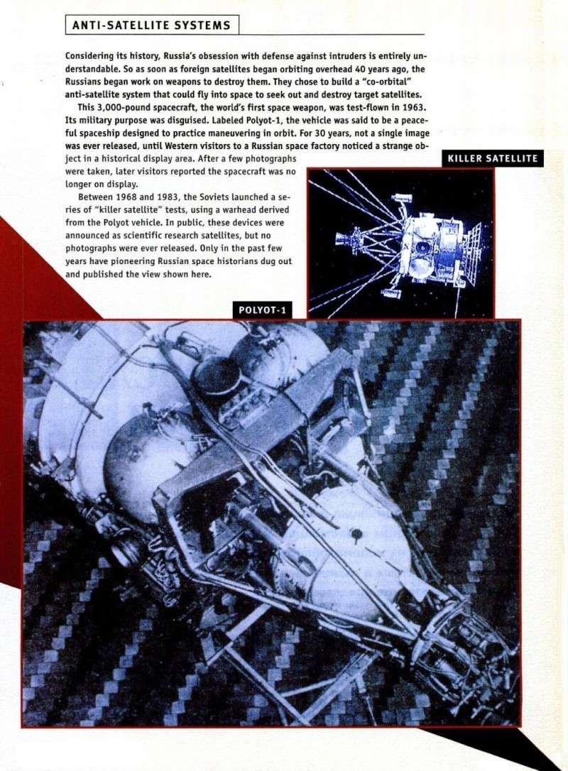 Années 1960/1980 : l'espace soviétique et ses velléités militaires restées longtemps secrètes Seso410