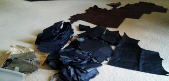 Leather Pieces Leathe10