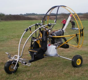 chariot monoplace Hawk Power210