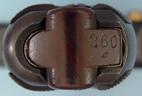 P08 WW1 régimenté de 1911 260e_s10