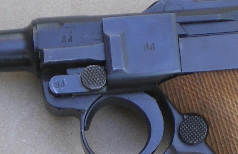 Réflexions sur la production de pistolets Luger P 08, par Mauser, en 1945-1946. - Page 2 Mauser10
