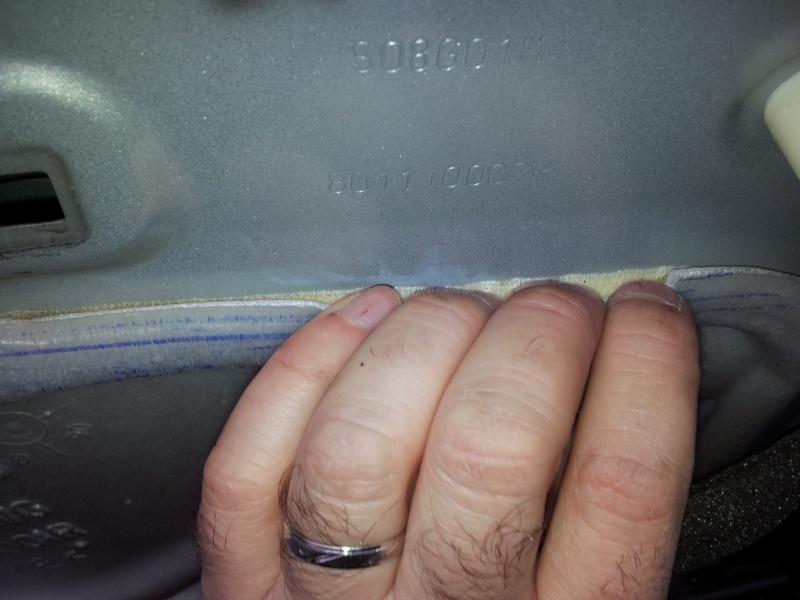 [Tuto] Démontage panneau de porte et remplacement serrure  20131128