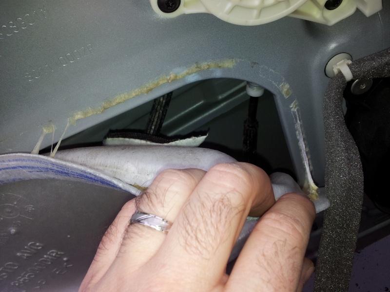 [Tuto] Démontage panneau de porte et remplacement serrure  20131129