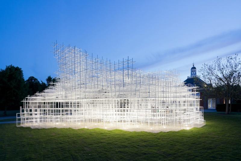Evolution des pavillons d'été de la Serpentine Gallery à Londres - Royaume-Uni 51ae2a10