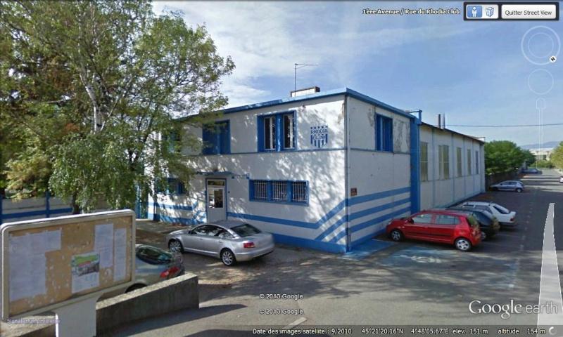 """[Enfin visible sur Google Earth] - Oeuvre """"Les cantonnés"""" à Salaise-Sur-Sanne, Isère (France) Canton10"""