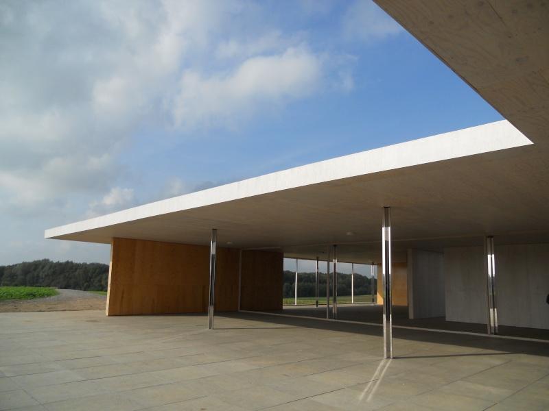 Maquette 1:1 du Golfclubhuis de Mies van de Rohe à Krefeld ( Allemagne ) Dscn5310