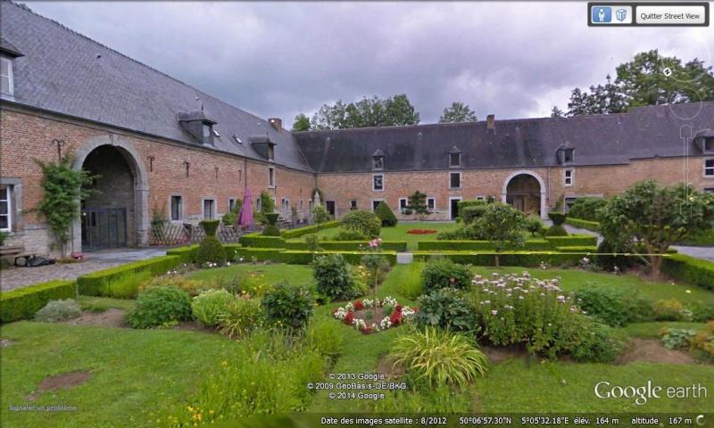 STREET VIEW : les parcs de grands châteaux de Belgique désormais disponibles ! Lavaux12