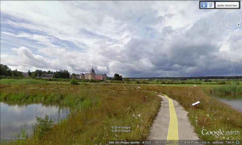 STREET VIEW : les parcs de grands châteaux de Belgique désormais disponibles ! Lavaux13