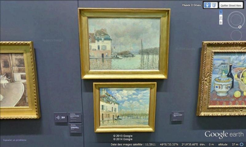 Street View : Lieux représentés sur des peintures célèbres (ou un peu moins) - Page 3 Monet_10