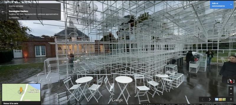 Evolution des pavillons d'été de la Serpentine Gallery à Londres - Royaume-Uni Pavill10