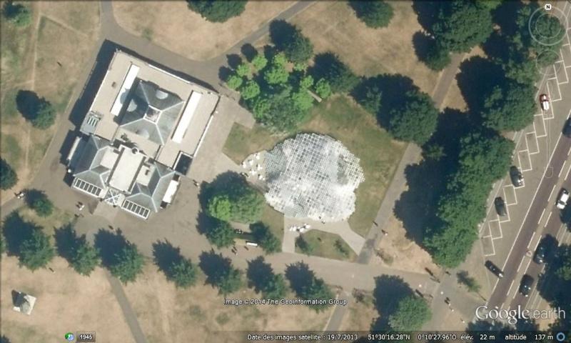 Evolution des pavillons d'été de la Serpentine Gallery à Londres - Royaume-Uni Pavill11