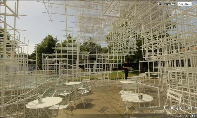 Evolution des pavillons d'été de la Serpentine Gallery à Londres - Royaume-Uni Pavill12